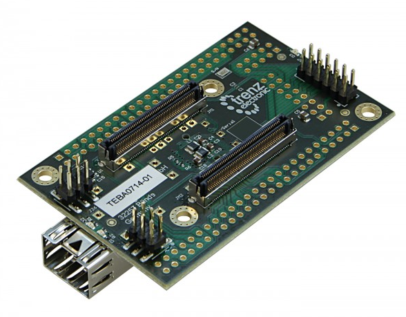 Artix TE0714 simple carrier board